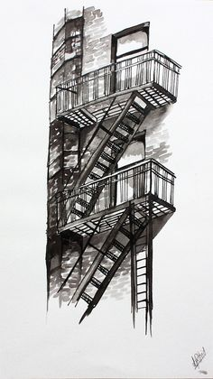 New York Fire Escape Stairs   Google Search