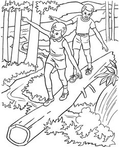 187 Best Nature Coloring Pages images in 2019 | Coloring pages ...