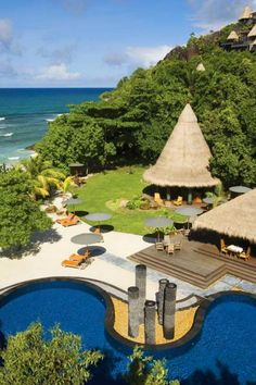 Maia Luxury Resort & Spa #Seychelles #Luxury #Travel Getaway VIPsAccess.com Ocean View Pool Villa $ 1,641/Night to Exepedia $ 1,681 Marsh 21st-28th