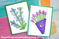 Get the little onesinvolved in sending some happy mail with today's Thumbprint Flower Cardskid craft idea!!! Super simple to make and sure to be loved by the lucky receivers! We are talking easy supplies and less than ten minutes to pull together these DIY cards! Then mail away for spring, Mother's Day or just because!!! …