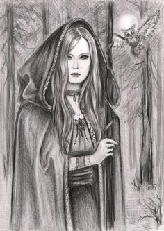Druid. Ancient prophets. by AnnaArmona.deviantart.com on @deviantART