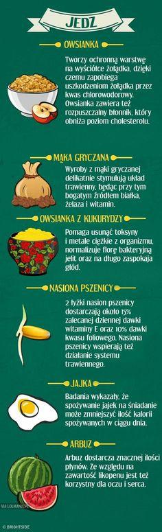 Produkty , które są korzystne lub  szkodliwe na pusty żołądek ( cz.3)