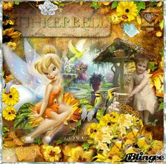 tinkerbell in spring