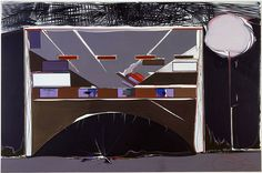 My favorite painting, Bank 399 by Thomas Scheibitz.