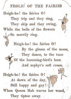 Fairy poetry