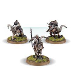 Jinetes enanos en cabra de las Colinas de Hierro de Games Workshop | El Anillo Único