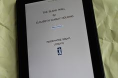 The Blank Wall by Elisabeth Sanxay Holding.