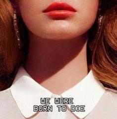 Lana Del Rey Born to Die - captioned