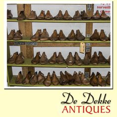 De Dekke Antiques would like to know who recognises these items? Lets us see if the shoe fits. #Fun #Justforlaughs