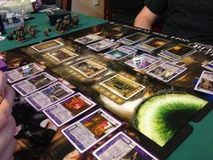 Boardgames, Card Games; Call of Cthulhu, Photographer Tara Green