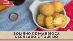 Bolinho de Mandioca recheado - Receitas de Minuto #110