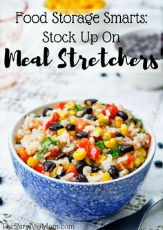 Meal stretchers can extend a dish in a healthy and budget-friendly way. These ideas are great!