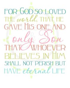 John 3:16 Have a blessed #Easter! Thank you #Jesus for saving us from the eternal sin. Aline ❤️