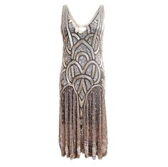 1stdibs - 1920s Bead & Sequin Rose Gold Flapper explore items from 1,700  global dealers at 1stdibs.com