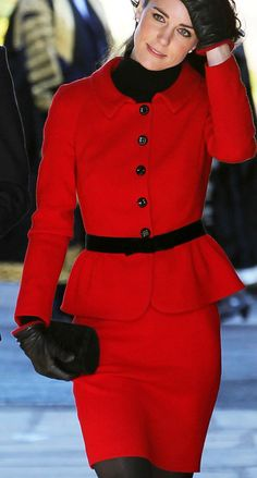 It's all about The Red Suit. PattyonSite™