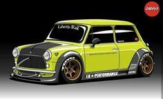 Mini Cooper S, Mini Cooper Classic, Classic Mini, Classic Cars, Custom Hot Wheels, Custom Cars, Cool Car Drawings, Mens Toys, Toyota Cars