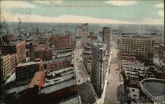 Before the Healey existed:  1909 city view from the Candler Building