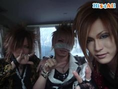 Ruki, Reita and Uruha