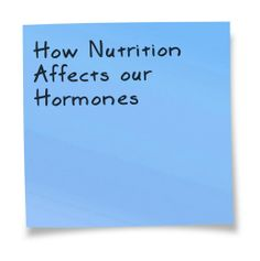 Hormones and nutrition. Listen and learn with special guest Natasha Turner ND-Food is medicine!