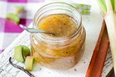 Schnell, schneller, Rhabarber-Vanille-Marmelade