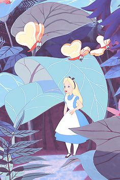 Alice In Wonderland Disney dieulois