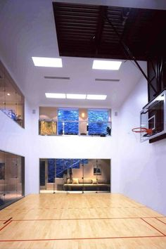 15 ideas for indoor home basketball courts  man cave