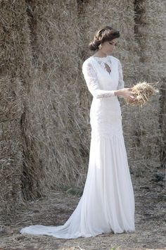 Dane Moran modest wedding dresses