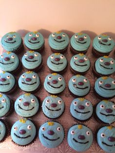 These Wally Trollman cupcakes are adorable!
