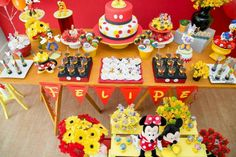 Mickey Mouse Kidsparty Party Ideas | Photo 4 of 9 | Catch My Party