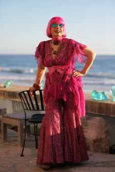 """ADVANCED STYLE-""""Personality and Jewelry Will Conquer Everything""""- Zandra Rhodes. wow"""