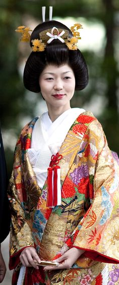 Japanese traditional wedding.  Photographer incanus japan of Flickr