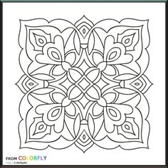 color fly coloring pages Mandalas Painting, Mandala Drawing, Dot Painting, Silk Painting, Mandala Art, Coloring Book Art, Mandala Coloring Pages, Colouring Pages, Adult Coloring