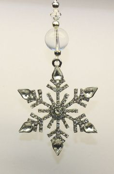 Christmas Tree Ornament Decoration Rhinestone SNOWFLAKE with Swarovski Crystal in Home, Furniture & DIY, Celebrations & Occasions, Christmas Decorations & Trees | eBay