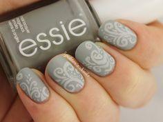 Spektor's Nails: Essie - Maximillian Strasse Her / Matte / Nail Art