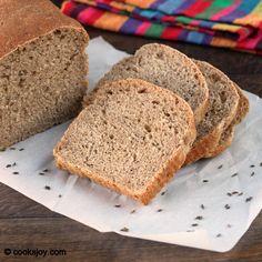 Rye Bread on http://cooksjoy.com/blog