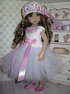 Set for Dianna Effner Little Darling 13 inches doll - blouse, skirt, hat. in Dolls & Bears, Dolls, Clothes & Accessories | eBay!
