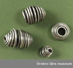 Pärlor av silver