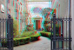 Old Catholic Church  anaglyph St-Maria Maior