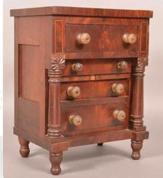 Antique Furniture Beautiful Early 20th Century Edwardian Gramophone Cabinet Cabinets 4 Polished Mahogany Sides Firm In Structure