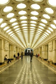 Metro Station Moscu