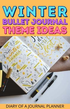 Plan out your winter themed bullet journal with our ultimate list of page ideas and trackers! #bulletjournalthemes #bulletjournalideas #bujo Goal Journal, Bullet Journal Hacks, Bullet Journal Printables, Bullet Journal Themes, Bullet Journal Layout, Bullet Journal Inspiration, Bullet Journals, Journal Pages, Journal Ideas