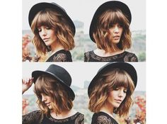 Grzywka w mistrzowskim stylu. 30 fantastycznych fryzur dla półdługich włosów - Strona 4