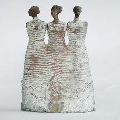 De drie Nornen 2 - Hanneke van den Bergh - brons