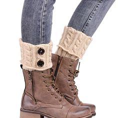 #Sannysis #Stricken #Stiefel #Socken #Beinlinge #Boot-Abdeckung #Keep #Warm #Socks #(beige) Sannysis Stricken Stiefel Socken Beinlinge Boot-Abdeckung Keep Warm Socks (beige), , Material: Acrylfasern, Länge: ca.  26cm/10.23