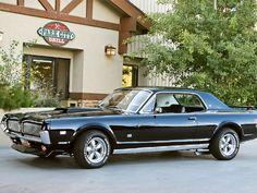 1968 Mercury Cougar - my first car was a 68 Cougar, exactly like this!