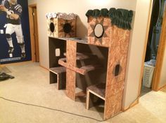 How to build a kitty castle