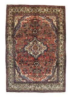 TRADITIONAL PERSIAN HAMADAN RUG 212 cm x 307 cm