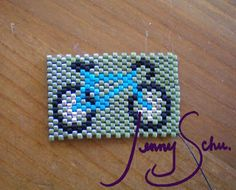 Jenny Schu's Beads, Yarn and Other Sundries: Bike Bracelet Sample and a new finished Piece!
