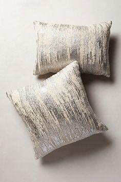 plaited metallics pillow / anthropologie