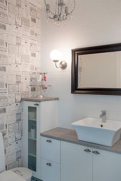 Bathroom Toilets, Mudroom, My Dream Home, Double Vanity, Laundry Room, Beautiful Homes, Sweet Home, Furniture, Mirror